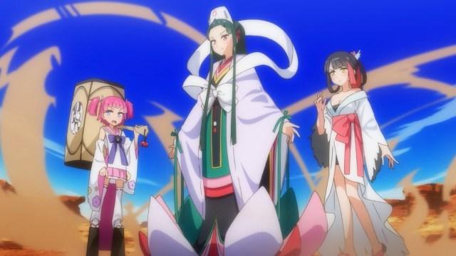 Transformed Shizuka, Ariko and Mai.jpg