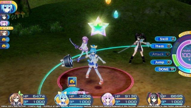 Superdimension Neptune vs Sega Hard Girls Gameplay.jpg