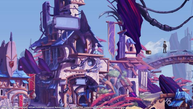 Super Neptunia RPG Town