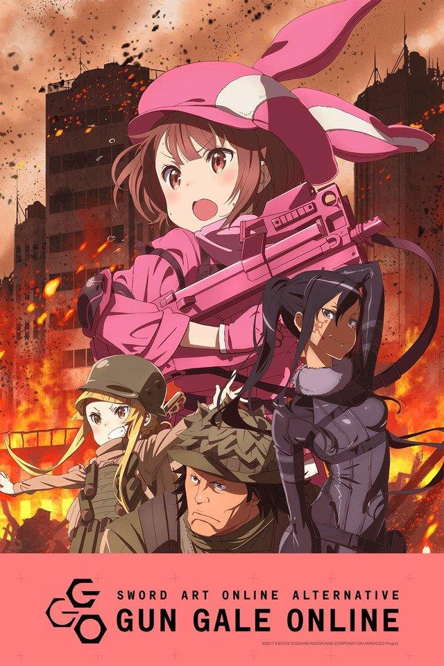 Gun Gale Online Cover