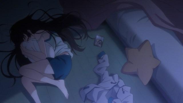 Hikari weeping for Karen