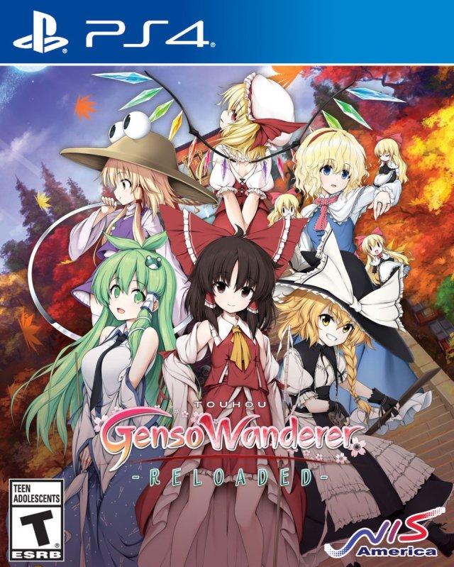 Touhou Genso Wanderer Reloaded Box