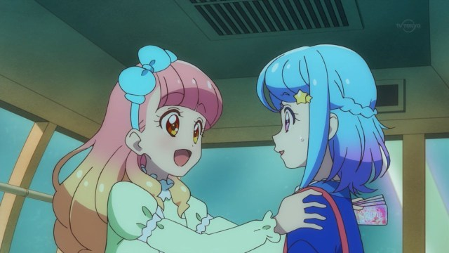 Aine happy with Mio's confession.jpg