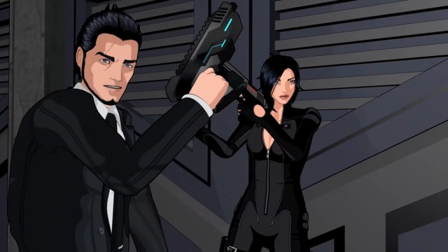 Fear Effect Sedna Cut Scene