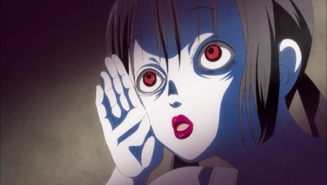 Hanako's crazy expression