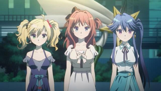 Haru, Eri and Sarasa