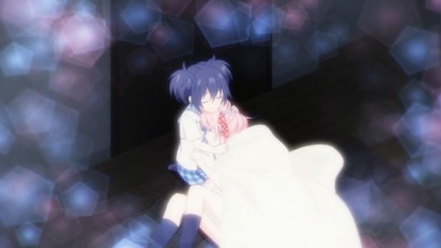 Shio comforting Satou.jpg