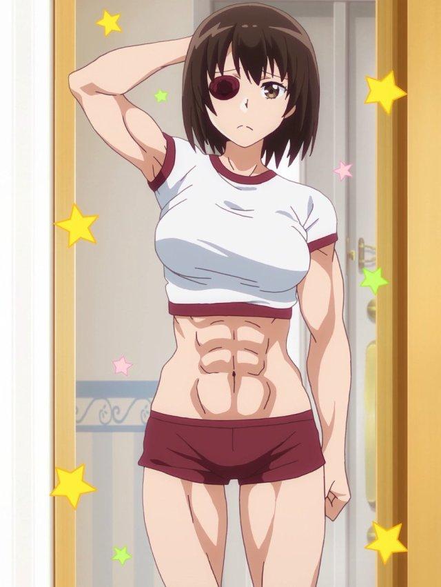 Uzamaid Tsubame's muscles