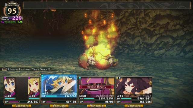 Labyrinth of Refrain Gameplay