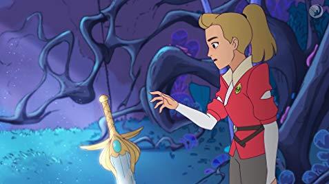 Adora finds the legendary sword.jpg