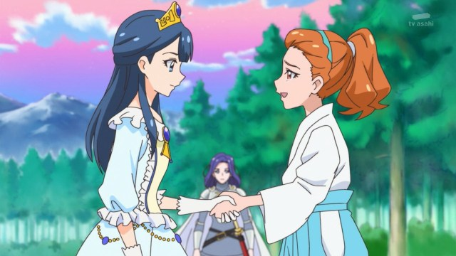 Saaya and Ranze shaking hands.jpg