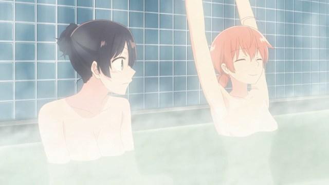 Yuu stretching in the bath.jpg
