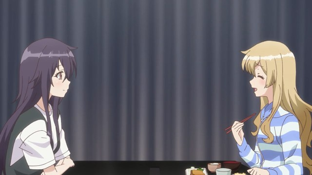 Hatsume and Goemon having a hearty meal.jpg