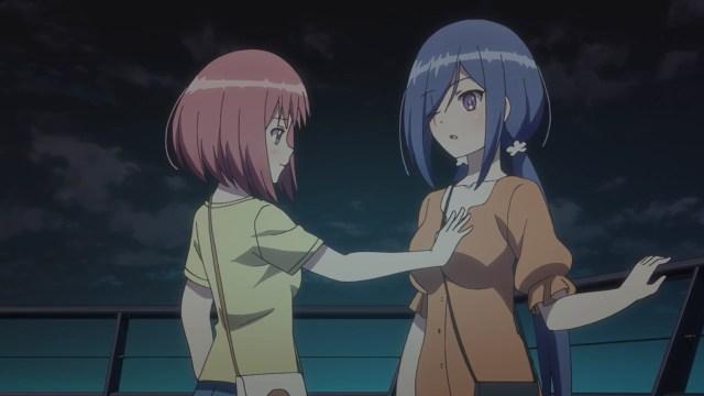 Momo sensing Yuki's Tsukikage Spirit.jpg