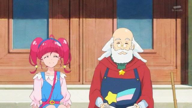 Hikaru and an old man.jpg