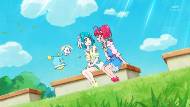 Hikaru encouraging Lala.jpg