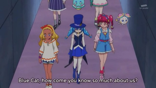 Precure and Blue Cat.jpg