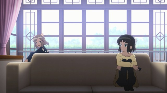 Hibiki and Miku concerned