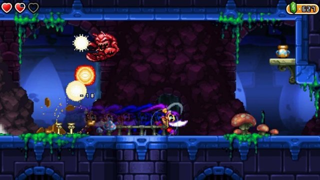 Shantae and the Pirates Curse Gameplay