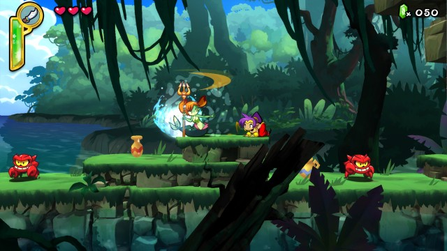 Shantae Half-Genie Hero Gameplay