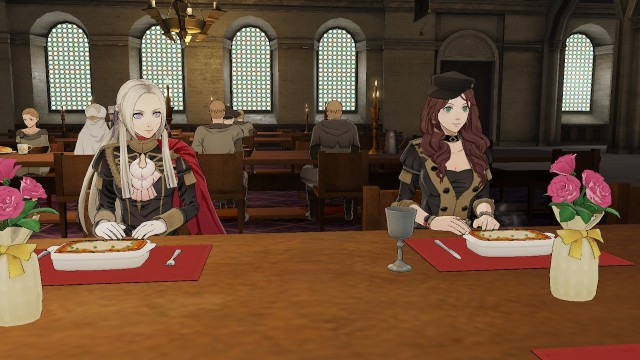Meal with Edelgard & Dorothea