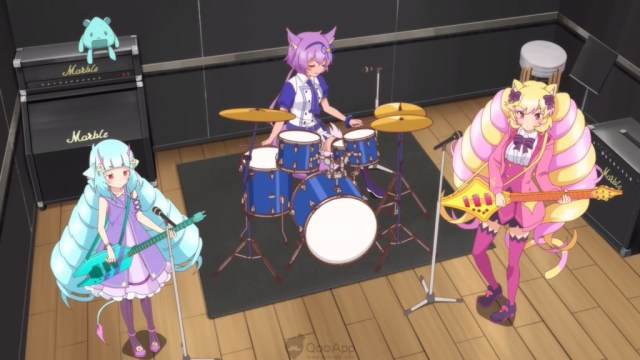 Delmin, Ruhuyu and Himeko