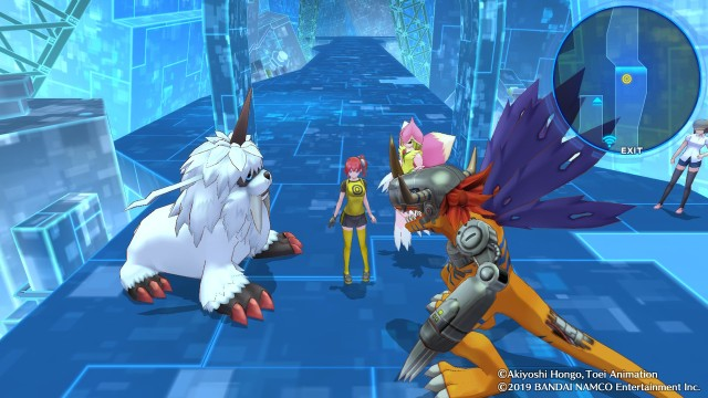 Digimon Cyber Sleuth Ami and some Digimon.jpg