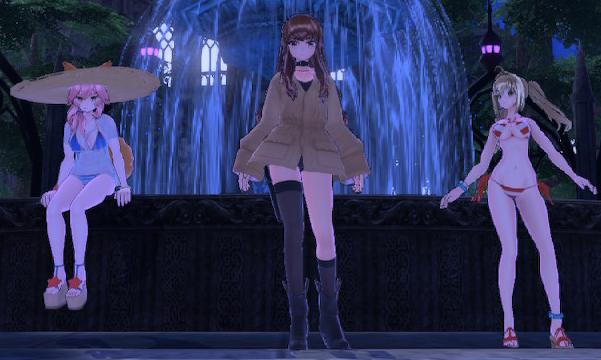 Hakuno, Nero & Tamamo