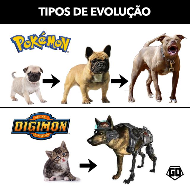 Pokemon vs Digimon Evolution.png