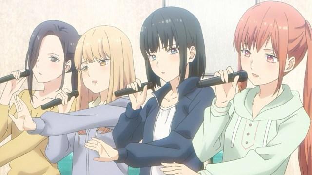 Flashback Reo, Sorane, Maki and Yumeri