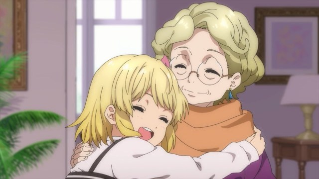 Kid Sakura and Granny Sakura