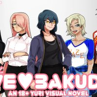 LOVE BAKUDAN 18+ Yuri Visual Novel Kickstarter
