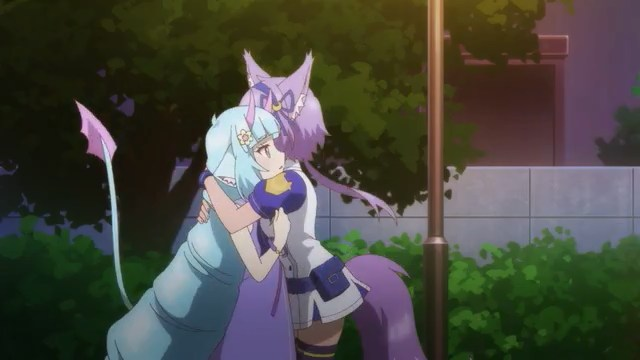 Ruhuyu and Delmin having a moment
