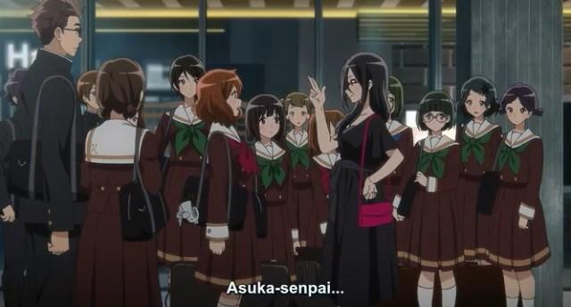 Kumiko and Asuka
