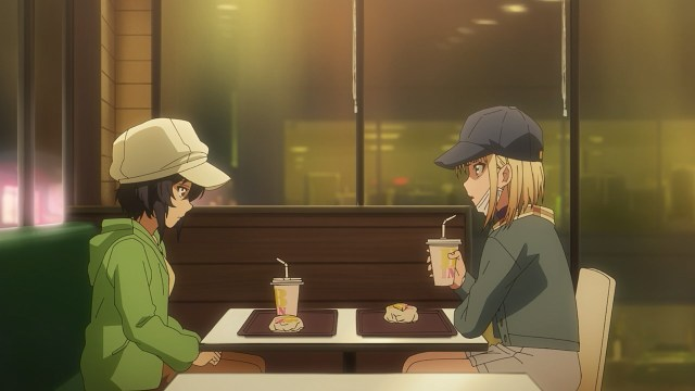Miu and Nicole discussing something