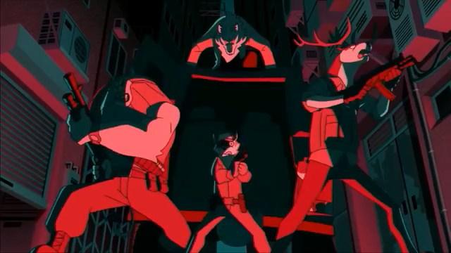 Shirou vs Mercenaries