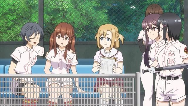 The gang assuring Yomi