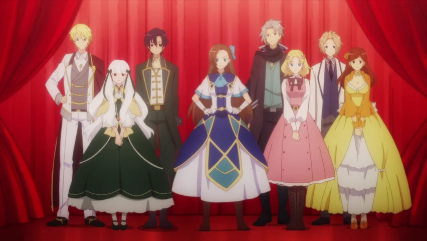 My Next Life as a Villainess Catarina and her harem