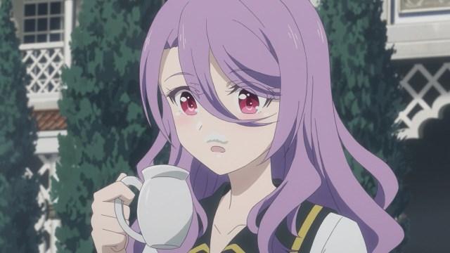 Emilia's milk stache