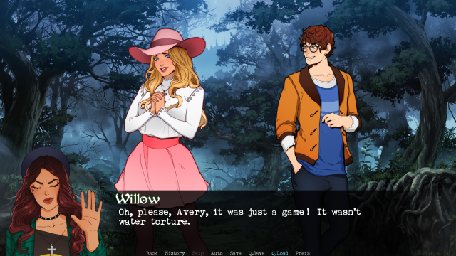 Wicked Willow, Lydia and Avery