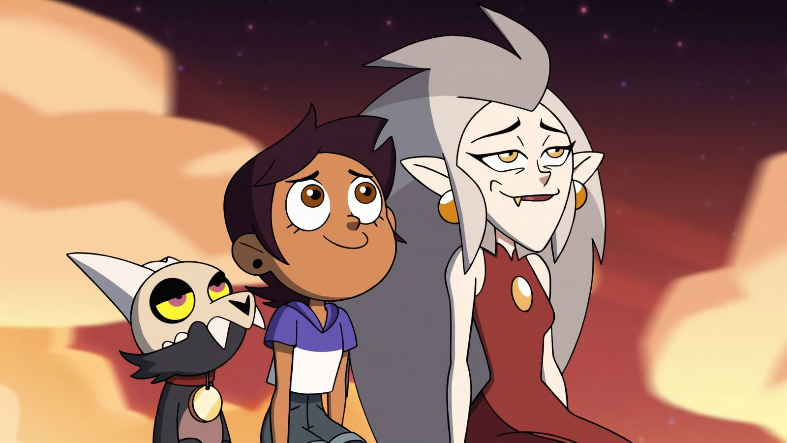 Luz, King and Eda