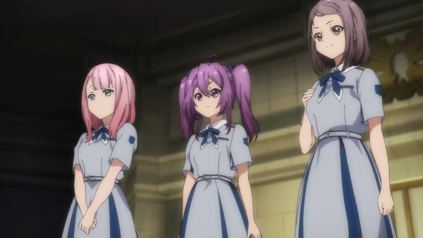 Mikami, Yuki and Tsubomi
