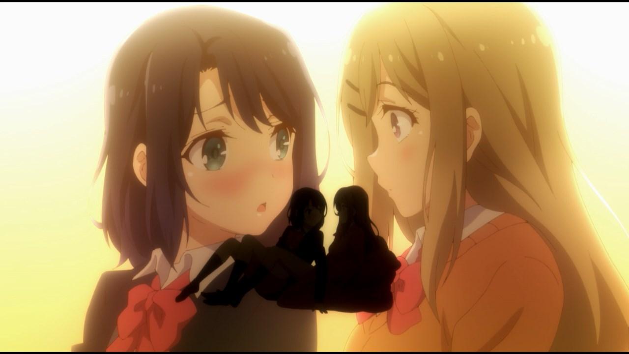 Adachi and Shimamura Cliffhanger