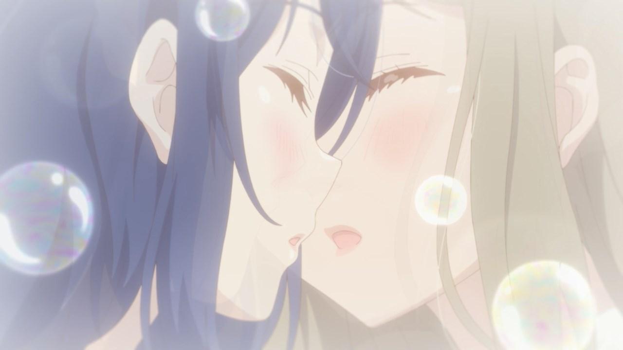 Adachi's dream kiss