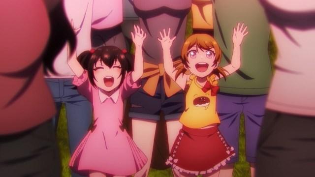Hanayo and Nico cameo