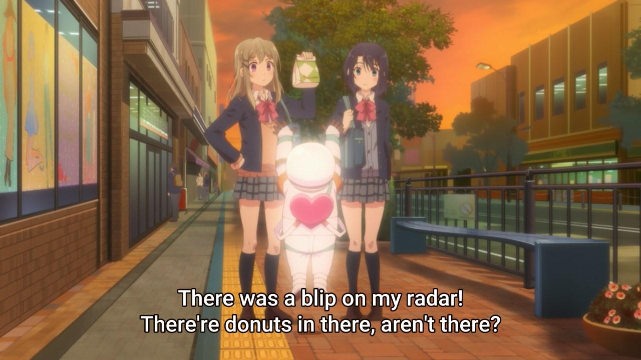 Yashiro wants donuts
