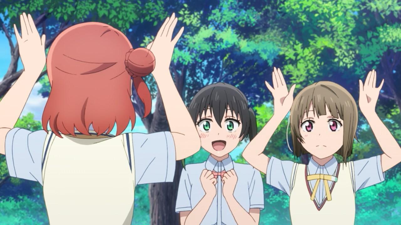 Yu excited for Bunny Ayumu