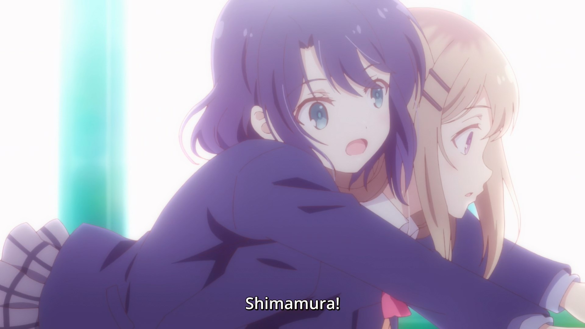 Adachi's dream relationship with Shimamura