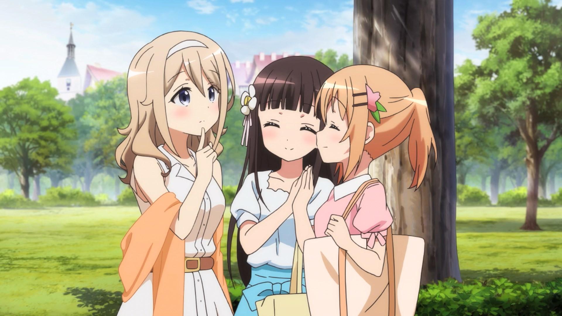 Aoyama, Cocoa and Chiya