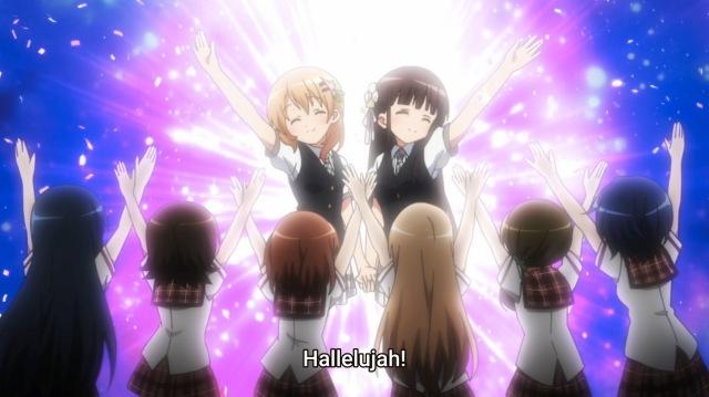 Cocoa and Chiya, Yuri goddesses